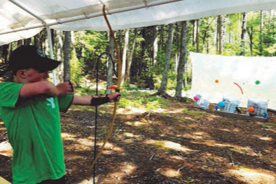 Archery at Camp Discovery