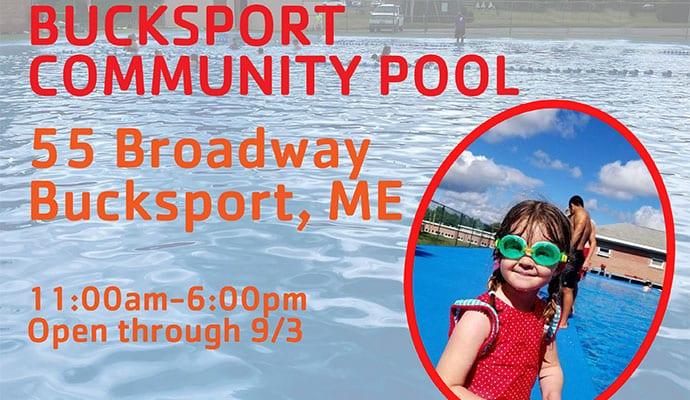 Bucksport Pool Open