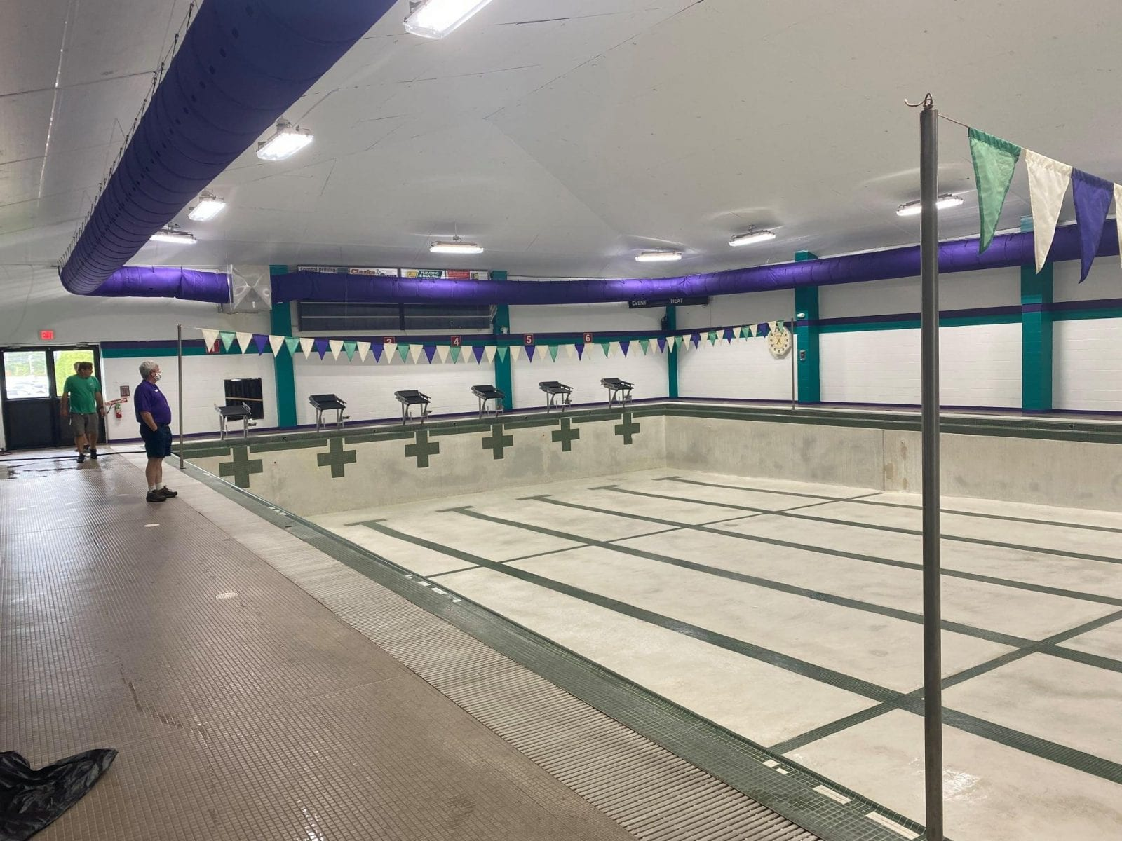 Wiggins Center Pool Renovations Complete