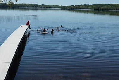 Camp Discovery Swimming
