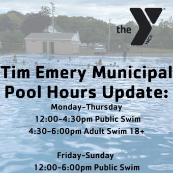 Bucksport pool hours
